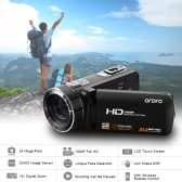 ORDRO HDV-Z8 1080P Full HD Digital Video Camera Camcorder 16× Digital Zoom with Digital Rotation LCD Touch Screen Max. 24 Mega Pixels Support Face Detection