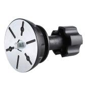 miliboo 75mm Half Ball Flat to Bowl Adapter for Fluid Head Tripod DSLR Rig Camera