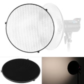 "15.6""/39.5cm Aluminum Alloy 50 Degree Honeycomb Grid for Bowens 41cm/16"" Reflector Diffuser Beauty Dish"