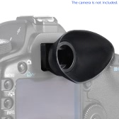 Rubber 18mm DSLR Camera Photo Eyecup Eye Cup Eyepiece Hood for Canon EOS 1100D 700D 650D 600D 550D 500D 450D 400D 300D for Rebel T5i T4i T3i T3 T2i T1i XTi XSi XS