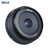 MEIKE MK-E-28-2.8 28mm F2.8 Large Aperture Manual Focus APS-C Camera Lens for Sony E Mount NEX3 NEX5 NEX6 NEX7 A5000 A5100 A6000 A6100 A6300 ILDC Compact System Mirrorless Camera