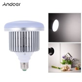 Andoer 50W 5500K 72 Beads E27 Socket Photo Video Studio Continuous Daylight Fill-in Softbox Photography LED Lamp Light Bulb for DSLR Camera & Smartphone Shooting