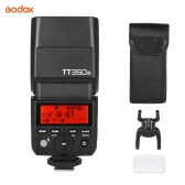 Godox Thinklite TT350N Mini 2.4G Wireless TTL Camera Flash Master & Slave Speedlite 1/8000s High Speed Sync. for Nikon D800 D700 D7100 D7000 D5200 D5100 D5000 D300 D3200 D3000 D2000 D70S D810 etc Cameras
