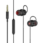 dodocool In-ear Virtual 5.1 Surround Sound Stereo Earphone with Remote Control & Mic Gaming Headphone for Xbox One PC Tablet Laptop Smartphone and More Black