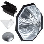 Godox S7 48cm Portable Foldable Octagon Photography Softbox Umbrella Lighting Kit for WITSTRO AD360 AD180 Series Speedlight Flash Strobe