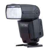 "YinYan 600AX-RT GN60 Flash Light Speedlite 2.2"" Color Touch LCD Panel I-TTL Master Slave HSS with Diffuser Filter for Nikon D750  D7100  D7200 D810 D800 D610 D7000 D5500 D3200 D5300 D3300 D5200 SLR Camera"