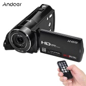 "Andoer HDV-V7 1080P Full HD Digital Video Camera Camcorder Max. 24 Mega Pixels 16× Digital Zoom with 3.0"" Rotatable LCD Screen Support Face Detection"