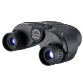 Non-slip Pocket 10 * 25 Rubber Binocular Telescope 8.5°Wide-angle View BAK4 Porro Prism FMC Green Film 114-1000m Field Travel Concert Hunting Party