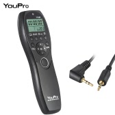 YouPro YP-880 DC2 Camera Wired Shutter Release Timer Remote Control LCD Display for Nikon D500 D750 D7100 D7200 D7000 D600 D610 D5500 D3300 D3200 D3100 D5300 D5200 DSLR