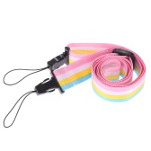 Adjustable Colorful Rainbow Comfortable Camera Neck Strap for Fujifilm Instax Mini 8 70 Film Camera