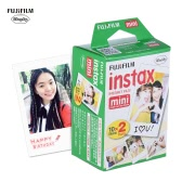 Fujifilm Instax Mini 20 Sheets White Film Photo Paper Snapshot Album Instant Print for Fujifilm Instax Mini 7s/8/25/90
