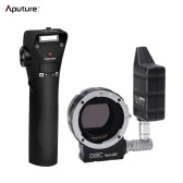 Aputure DEC Vari-ND Wireless Lens Remote Adapter with Electronic Vari-ND Filter ND8 to ND2048 for Canon EF-mount Lens for Sony E-mount Cameras