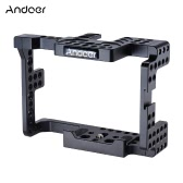 Andoer Aluminum Alloy Camera Cage for Sony  A7II A7RII A7SII A7S A7R A7 ILDC Cameras