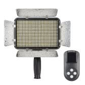 504pcs Beads Ultra High Power 5600K Dimmable Illumination Studio Video Photo Pad Panel Lamp LED Light Lighting with LCD 99 Channels Wireless Remote Control for Canon Nikon DSLR Camera DV Camcorder