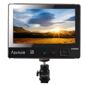 Aputure VS-1 FineHD 7inch Digital LCD Video Monitor 1920*1200 Native Resolution LTPS V-Screen YPbPr/AV (Audio/L/R) for DSLR Camera Camcorder