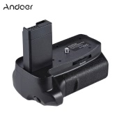 Andoer BG-1H Vertical Battery Grip Compatible with 2 * LP-E10 Battery for Canon EOS 1100D 1200D 1300D / Rebel T3 T5 T6 / kiss X50 X70 DSLR Cameras