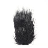 12 Inch Artificial Outdoor Fur Furry Man-made Wind Noise Reducing Microphone Cover Windscreen Muff for Portable Digital Recoders for MIC-108 Stereo Microphone