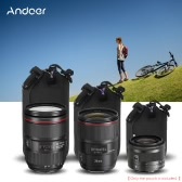 """Andoer 4.0 x 3.0"""" (10.2 x 7.7cm) Small Size Shockproof Water-resistant DSLR Lens for Canon Nikon Sony 24mm-50mm Lens"""