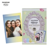 Fujifilm Instax Mini 10 Sheets MACAROON Gradual Color Film Photo Paper Instant Print for Fujifilm Instax Mini7s/8/25/50s/70/90 SP-1/SP-2 Smartphone Printer