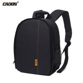 CADeN D7 Camera Shoulder Bag Backpack Case Shockproof Waterproof  for Canon Nikon Sony DSLR Mirrorless Cam Lens Flash