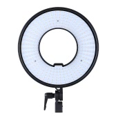 300pcs Ring LED Panel  Lights Lamp CRI 95+ Dual Color Temperature 3000K-7000K Adjustable Studio Outdoor Video Camera Photography Lighting Kit