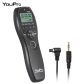 YouPro YP-880 DC2 Camera Wired Shutter Release Timer Remote Control LCD Display for Nikon D500 D750 D7100 D7200 D7000 D600 D610 D5500 D3300 D3200 D3100 D5300 D5200 DSLR