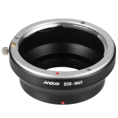 Andoer EOS-M4/3 Adapter Ring Lens Mount for Canon EOS Lens to Fit for Panasonic Olympus Micro M4/3  Mount Camera Body