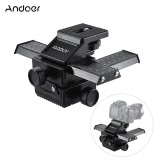 4 Way Macro-focusing Close-up Shooting Photography Tripod Head Rail Slider for DSLR Camera