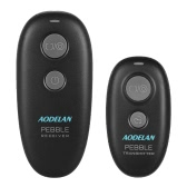 Aodelan PEBBLE 2.4GHz Wireless Remote Shutter Release Wireless Shutter Remote Performing Autofocus Single Shot Delayed Release Continuous Release with S8+2.5 Shutter Release Connecting Cable for Sony A58 A7R A7 A7II A7RII A7SII A7S A6000 A6500 A6300 A5100 RX100II RX100M5 Cameras