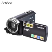 """Andoer HDV-5052STR Upgraded Version Portable 24Mega Pixels Digital Video Camera 1080P Full HD with Night-shot Digital Camcorder 3.0"""" Rotatable LCD Touch Screen 16× Digital Zoom Support for HD and WiFi Output"""
