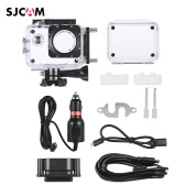 Original SJCAM SJ4000 Series Sports Action Camera Set Kit for SJCAM SJ4000 SJ4000+ Plus SJ4000 with Waterproof Case Motorcycle Motorbike Charger Accessories