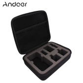 Andoer Portable Shockproof Protective Action Camera Case Bag Storage Bag for GoPro Hero4 Session and Related Accessories