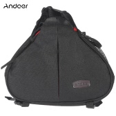 Andoer Casual Water Resistant Camera Bag Case with Waterproof Cover for Canon Nikon Sony SLR DSLR