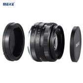 MEIKE MK-E-50-2.0 50mm F2.0 Prime Lens Manual Focus APS-C Camera Lens for Sony E Mount NEX3 NEX5 NEX6 NEX7 A5000 A5100 A6000 A6100 A6300 ILDC Mirrorless Camera