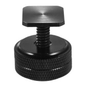 "Andoer Double Nut Flash Mount Adapter Speedlite Accessory 1/4"" Thread Screw Metal"