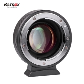 Viltrox NF-M43X 0.71X Lens Mount Adapter Ring Focal Reducer Speed Booster 8 Aperture Manual Focus for Nikon G D Lens to use for Micro Four Thirds M4/3 Camera