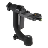 Heavy Duty Metal Gimbal Tripod Head with Standard Quick Release Plate for DSLR Camera Telephoto Lens(Max.Load to 20kg / 44Lbs)