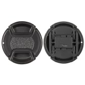 52mm Center Pinch Snap-on Lens Cap Cover Keeper Holder for Canon Nikon Sony Olympus DSLR Camera Camcorder