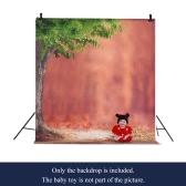 1.5 * 2m/4.9 * 6.5ft Photography Background Backdrop Computer Printed Ballon Wooden Floor Pattern for Children Kid Baby Newborn Pet Photo Studio Portrait Shooting