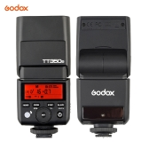 Godox TT350S Mini Portable Speedlite 2.4G Wireless Master Slave 1/8000S HSS TTL Flash Speedlight for Sony A77II A7RII A7R A58 A99 ILCE6000L RX10 Mirrorless ILDC Camera