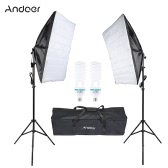Andoer Photography Studio Cube Umbrella Softbox Light Lighting Tent Kit