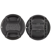 49mm Center Pinch Snap-on Lens Cap Cover Keeper Holder for Canon Nikon Sony Olympus DSLR Camera Camcorder