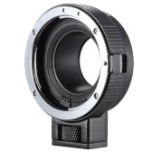 Andoer EF-EOSM Lens Mount Adapter Support Auto-Exposure Auto-Focus and Auto-Aperture for Canon EF/EF-S Series Lens to EOS M EF-M M2 M3 M10 Camera Body Support Image Stability