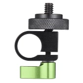 Thread Screw Single Rod Clamp Kit for DSLR Camera Camcorder Video Rail Support System