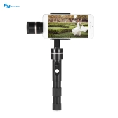 Feiyu Tech Newest G4 Pro 3 Axis Brushless Motor Handheld Gmibal Smartphone Stabilizer Pan Moving without Limited for iPhone 7Plus 7 6Plus 6 for Samsung Note7 S6 for Huawei P9 P9 Plus for Xiaomi 5 Note3 and Other Smartphones within 53mm-80mm