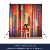 1.5 * 2m/4.9 * 6.5ft Photography Background Backdrop Computer Printed Color Pattern for Children Kid Baby Newborn Pet Photo Studio   Portrait Shooting