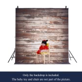 1.5 * 2m/4.9 * 6.5ft Photography Background Backdrop Computer Printed Wooden Wall Floor Pattern for Children Kid Baby Newborn Pet   Photo Studio Portrait Shooting