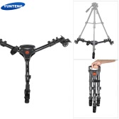 YUNTENG 900 Foldable Adjustable Legs Lightweight Tripod Dolly Max. Load 15kg / 33Lbs for Camcorders Cameras