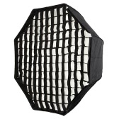 "120cm / 48"" Portable Foldable Octagon Umbrella Softbox Diffuser Reflector with Honeycomb Grid for Photography Photo Studio Flash Speedlite Strobe Lighting"