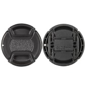 40.5mm Center Pinch Snap-on Lens Cap Cover Keeper Holder for Canon Nikon Sony Olympus DSLR Camera Camcorder